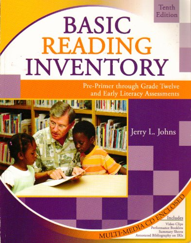 Basic Reading Inventory W/Cd 10th 2010 (Revised) edition cover