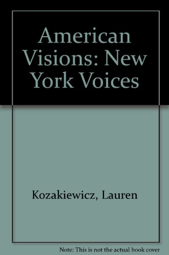 American Visions New York Voices  Revised  9780757576461 Front Cover