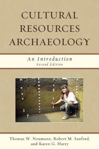 Cultural Resources Archaeology An Introduction 2nd 2010 edition cover