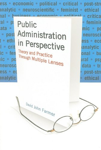 Public Administration in Perspective Theory and Practice Through Multiple Lenses  2010 edition cover