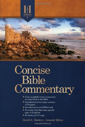Holman Concise Bible Commentary   2011 edition cover