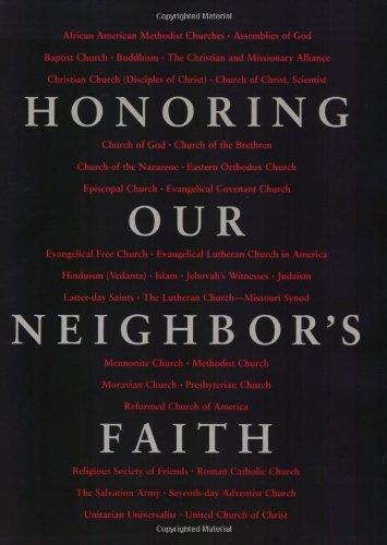 Honoring Our Neighbor's Faith   1999 edition cover