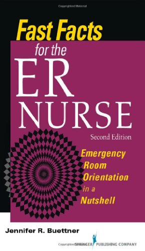 Fast Facts for the ER Nurse: Emergency Room Orientation in a Nutshell  2013 edition cover