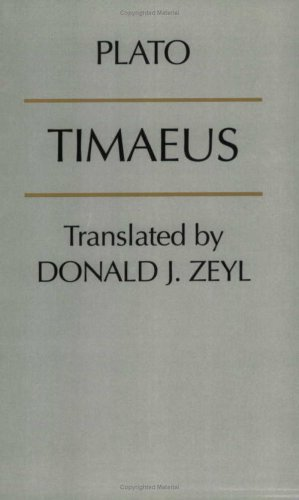 Timaeus   2000 edition cover