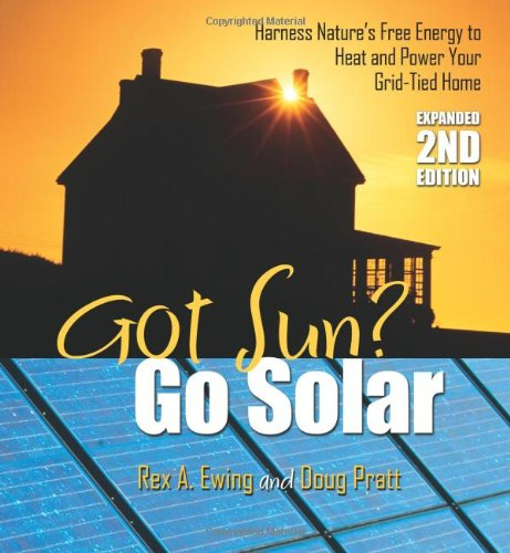 Got Sun? Go Solar, Expanded 2nd Edition Harness Nature's Free Energy to Heat and Power Your Grid-Tied Home 2nd 2009 (Expanded) edition cover