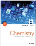 Chemistry: The Molecular Nature of Matter  2014 edition cover