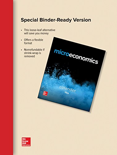 MICROECONOMICS (LOOSELEAF)              N/A 9781259662461 Front Cover