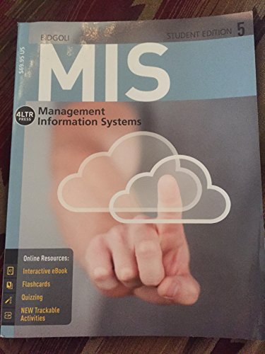 MIS 5:STUDENT ED.-TEXT                  N/A edition cover