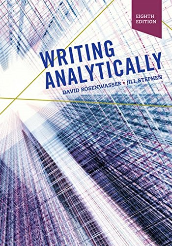 Writing Analytically:   2018 9781337559461 Front Cover