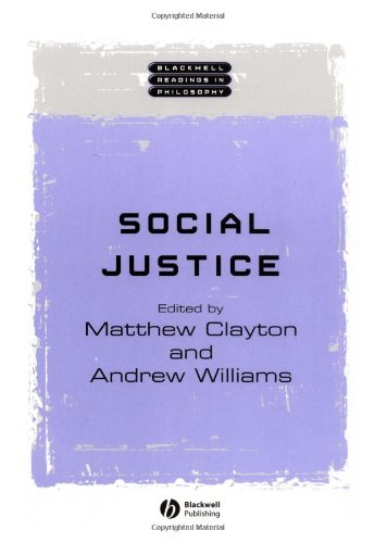Social Justice   2004 edition cover
