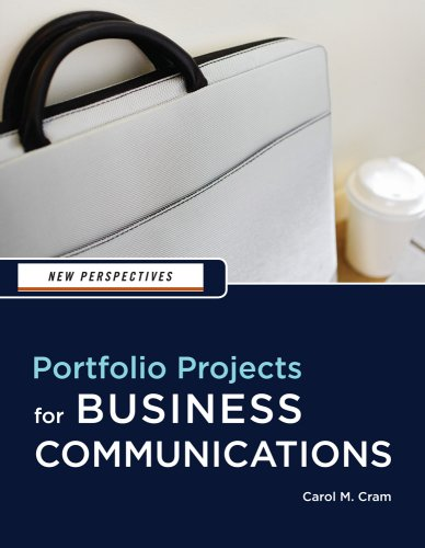 New Perspectives Portfolio Projects for Business Communication 2nd 2010 edition cover