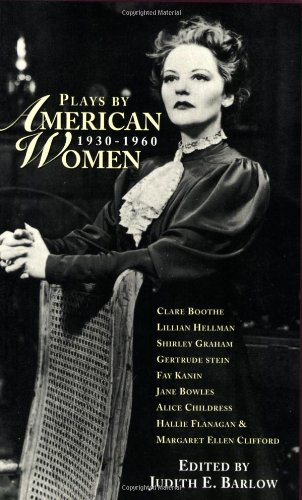 Plays by American Women, 1930-1960   2001 edition cover