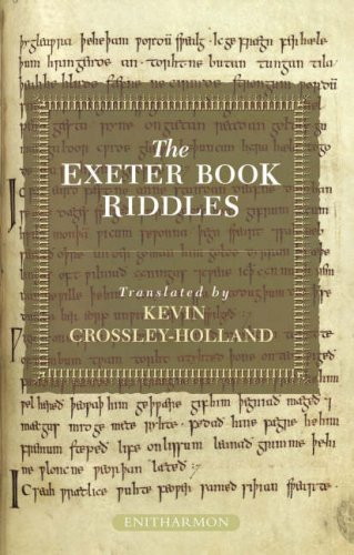 Exeter Book Riddles   2008 edition cover