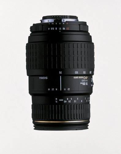 Sigma 70-300mm f/4-5.6 APO Macro Super Lens for Canon SLR Cameras product image