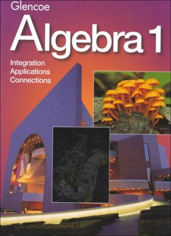 Algebra 1 1st 1997 edition cover