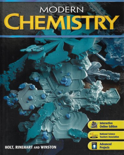 Modern Chemistry  6th 9780030735462 Front Cover