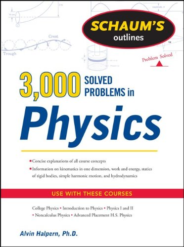 3,000 Solved Problems in Physics   2012 (Revised) edition cover