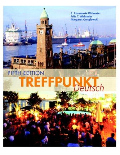 Treffpunkt Deutsch Grundstufe 5th 2008 (Revised) edition cover