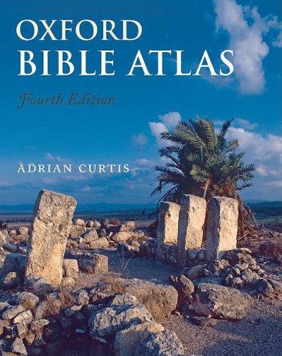 Oxford Bible Atlas  4th 2009 edition cover