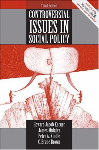Controversial Issues in Social Policy  3rd 2007 edition cover