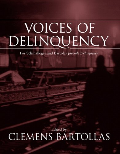 Voices of Delinquency for Juvenile Delinquency   2008 edition cover