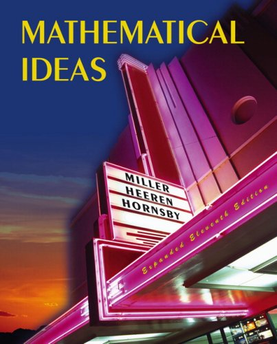 Mathematical Ideas  11th 2008 (Revised) edition cover