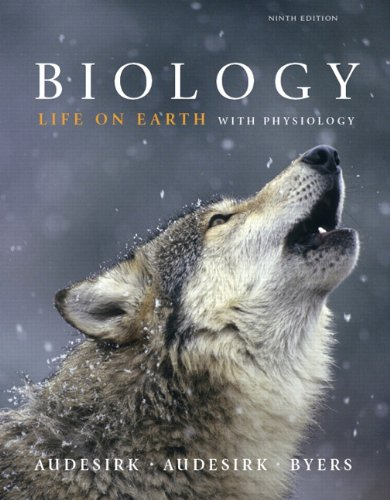 Biology Life on Earth with Physiology 9th 2011 edition cover