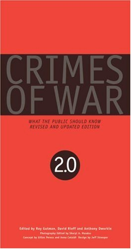 Crimes of War What the Public Should Know  2007 (Revised) edition cover