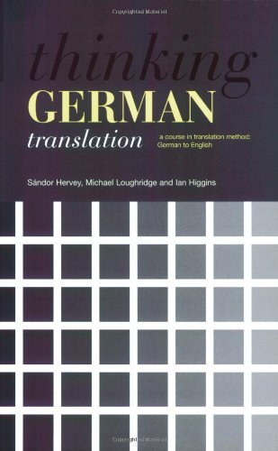 Thinking German Translation  2nd 2004 (Revised) edition cover