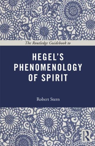 Routledge Guidebook to Hegel's Phenomenology of Spirit   2013 edition cover