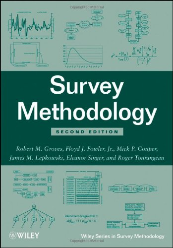 Survey Methodology  2nd 2009 edition cover