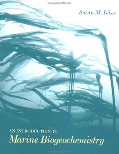 Introduction to Marine Biogeochemistry   1992 9780471509462 Front Cover