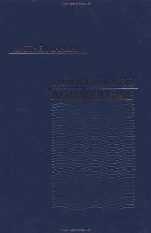Introduction to Aquaculture   1992 edition cover