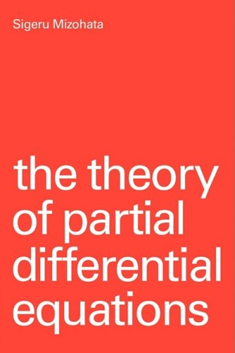 Theory Partial Differential Equations  N/A 9780521297462 Front Cover