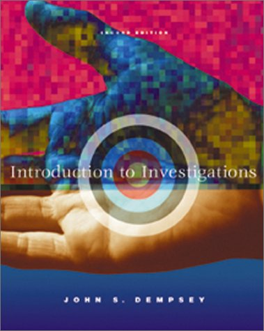 Introduction to Investigations  2nd 2003 (Revised) edition cover