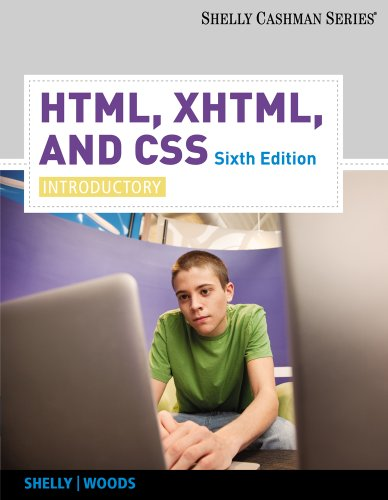 HTML, XHTML, and CSS Introductory 6th 2011 edition cover