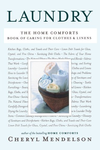 Laundry The Home Comforts Book of Caring for Clothes and Linens  2010 edition cover