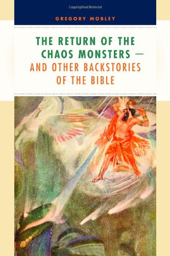 Return of the Chaos Monsters And Other Back Stories of the Bible  2011 edition cover