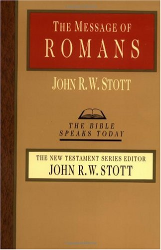 Message of Romans God's Good News for the World  2001 edition cover