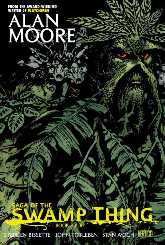 Saga of the Swamp Thing   2013 edition cover