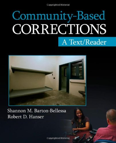 Community-Based Corrections A Text/Reader  2012 edition cover