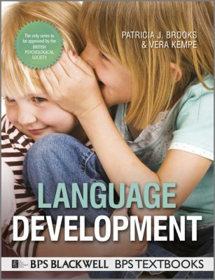 Language Development   2012 9781444331462 Front Cover