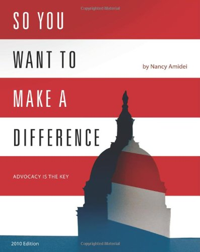So You Want to Make a Difference  N/A edition cover