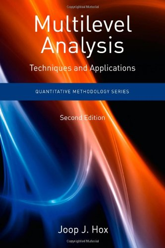 Multilevel Analysis Techniques and Applications 2nd 2010 (Revised) edition cover
