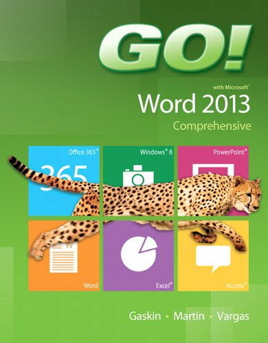 GO! with Microsoft Word 2013 Comprehensive   2014 edition cover