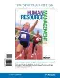 Human Resource Management, Student Value Edition:   2014 edition cover