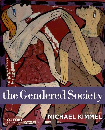 Gendered Society  5th 2013 edition cover
