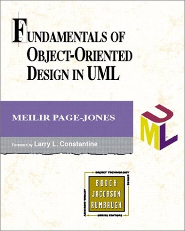 Fundamentals of Object-Oriented Design in UML   2000 edition cover