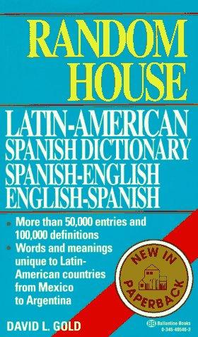 Random House Latin-American Spanish Dictionary  N/A edition cover