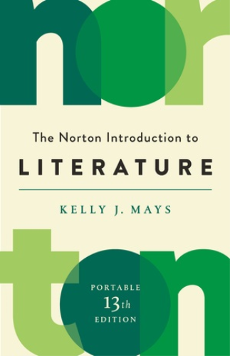 Norton Introduction to Literature Portable Edition 13th 9780393420463 Front Cover